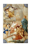 Allegory from the Clementino Museum Giclee Print by Anton Raphael Mengs