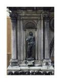 Adam, Bronze Sculpture Giclee Print by Antonio Rizzo