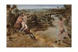 Hercules and Deianira, C.1475-80 Giclee Print by Antonio Pollaiuolo