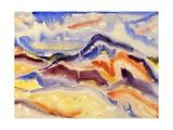 Abstract Landscape, 1915 Impressão giclée por Charles Demuth