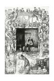 The Last Day of the Convict Giclee Print by Celestin Francois Nanteuil
