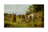 The Duel Giclee Print by George Wright
