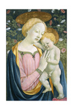 Madonna and Child, C.1445-1450 Giclée-tryk af Domenico Veneziano
