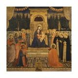 Pala Di San Marco, Circa 1440 Reproduction procédé giclée par Giovanni Da Fiesole
