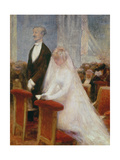 The Wedding Giclee Print by Albert Guillaume