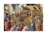 Adoration of the Magi or Tondo Cook, 1445-1455 Reproduction procédé giclée par Giovanni Da Fiesole