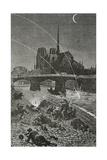 Paris under Fire, 19th Century Giclée-Druck von Daniel Urrabieta Vierge