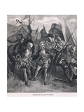 Soldiers of the Tudor Period Giclee Print by Charles Ricketts