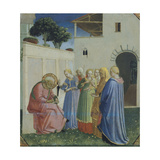 The Naming of St John the Baptist, Circa 1430 Reproduction procédé giclée par Giovanni Da Fiesole