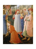 Deposition from Cross or Altarpiece of Holy Trinity Reproduction procédé giclée par Giovanni Da Fiesole