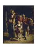 Bundle Carriers Giclee Print by Charles Ronot