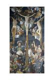 Crucifixion, Fresco Giclée-tryk af Gaudenzio Ferrari