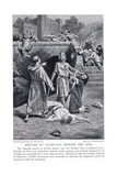 Bernard of Clairvaux Defends the Jews Giclee Print by George Derville Rowlandson