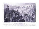 The Fall of Numantia 133 BC Giclee Print by George Derville Rowlandson