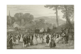 Peasants Ball Giclee Print by Eugene-Louis Lami