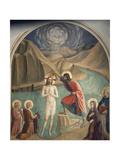The Baptism of Christ Reproduction procédé giclée par Giovanni Da Fiesole