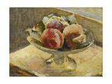 A Bowl of Peaches; Le Compotier De Peches, C.1889 Reproduction procédé giclée par Edouard Vuillard