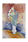 Flower Bouquet; Bouquet De Fleurs Giclee Print by Henri Lebasque