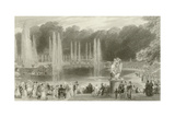 The Grand Waterworks Giclee Print by Eugene-Louis Lami