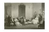 A Parisian Family Giclee Print by Eugene-Louis Lami