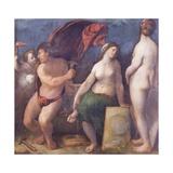Allegory of Music, 1522 Giclée-tryk af Dosso Dossi