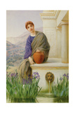 At the Fountain Giclee Print by Henry Ryland