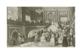 Grand Fete at the Palace of Versailles Giclee Print by Eugene-Louis Lami