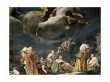 Diana and Her Nymphs Giclée-tryk af Giuseppe Maria Crespi