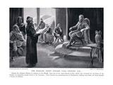 The Khazars Adopt Judaism VIII Century AD Giclee Print by George Derville Rowlandson