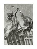Nemrod, 19th Century Giclee Print by Georges Marie Rochegrosse