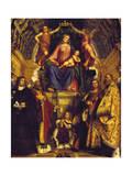 Madonna and Saints, 1513 Giclee Print by Girolamo Romanino