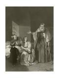 The Two Foscari Giclee Print by John Rogers Herbert
