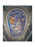 Astrological Ceiling, in the Sala Del Mappamondo Giclée-Druck von Giovanni De' Vecchi