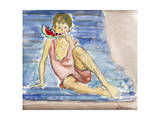 The Artist's Son; Le Fils De L'Artiste Giclee Print by Henri Lebasque