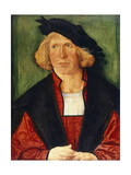Portrait of Young Man Giclee Print by Hans Von Kulmbach