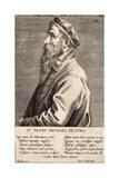 "Peter Breughel, Plate 19 from the Series ""Pictorum Aliquot Celebrium Germanaie Inferioris Effigies"" Giclee Print by Johan Wierix"