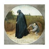 Misanthrope Gicléetryck av Pieter Bruegel the Elder