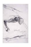 Höllensturz, 1892 Gicléetryck av Lovis Corinth