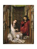 Nativité Reproduction procédé giclée par Rogier van der Weyden