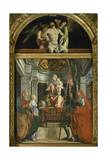 Madonna and Saints Giclee Print by Lorenzo Lotto