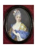 Portrait of Lady Giclee-trykk av Rosalba Giovanna Carriera