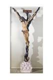 Crucifix Giclée-tryk af Giovanni Pisano