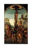 The Martyrdom of St Sebastian Giclee Print by Luca Signorelli