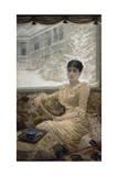 Portrait of Mrs. De Nittis, 1882 Giclee Print by Giuseppe De Nittis