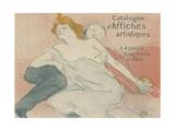 Debauche, 1896 Lámina giclée por Henri de Toulouse-Lautrec
