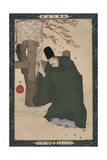 Sugawara Michizane, from the Series 'Instructive Models of Lofty Ambitions' Giclee Print by Kobayashi Kiyochika