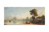 Chiswick, 1814 Giclée-Druck von John Varley