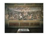 Fresco Giclée-tryk af Raffaello Sanzio