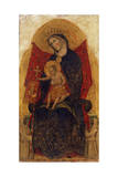 Madonna and Child, from Polyptych Madonna and Child with Saints, 1349 Giclée-tryk af Paolo Veneziano
