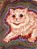 Kaleidoscope Cats III Giclée-Druck von Louis Wain